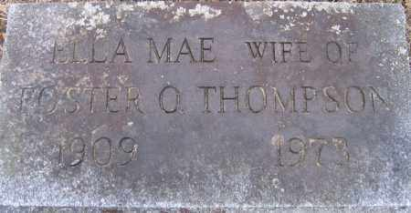 THOMPSON, ELLA MAE - Fulton County, New York | ELLA MAE THOMPSON - New York Gravestone Photos