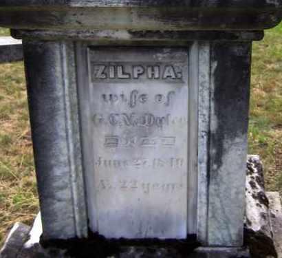 BENNETT, ZILPHA - Fulton County, New York | ZILPHA BENNETT - New York Gravestone Photos