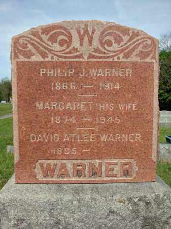 WARNER, PHILIP J - Fulton County, New York | PHILIP J WARNER - New York Gravestone Photos
