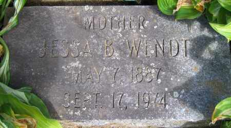 WENDT, JESSA B. - Fulton County, New York | JESSA B. WENDT - New York Gravestone Photos