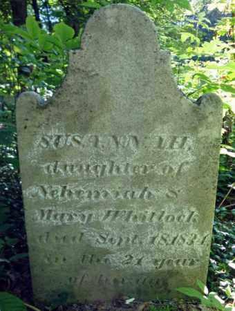 WHITLOCK, SUSANNAH - Fulton County, New York | SUSANNAH WHITLOCK - New York Gravestone Photos