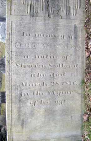 WILSON, JOHN - Fulton County, New York | JOHN WILSON - New York Gravestone Photos