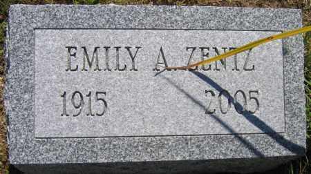 ZENTZ, EMILY A. - Fulton County, New York   EMILY A. ZENTZ - New York Gravestone Photos