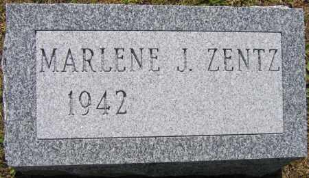 ZENTZ, MARLENE J. - Fulton County, New York   MARLENE J. ZENTZ - New York Gravestone Photos