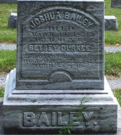 DURKEE BAILEY, BETSEY - Genesee County, New York | BETSEY DURKEE BAILEY - New York Gravestone Photos