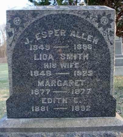ALLEN, J ESPER - Greene County, New York | J ESPER ALLEN - New York Gravestone Photos