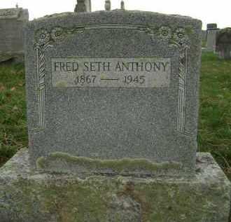 ANTHONY, FRED SETH - Greene County, New York | FRED SETH ANTHONY - New York Gravestone Photos