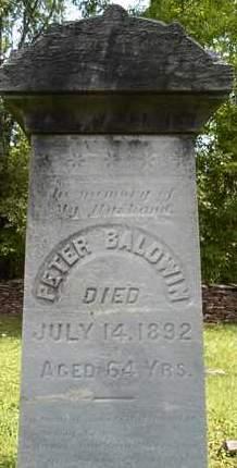 BALDWIN, PETER - Greene County, New York | PETER BALDWIN - New York Gravestone Photos