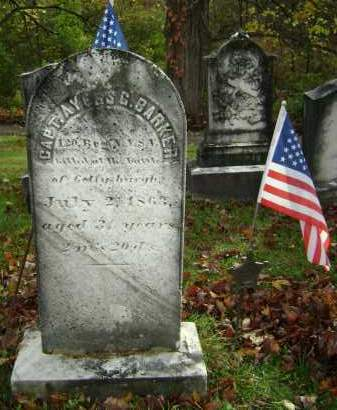 BARKER, AYERS G - Greene County, New York | AYERS G BARKER - New York Gravestone Photos