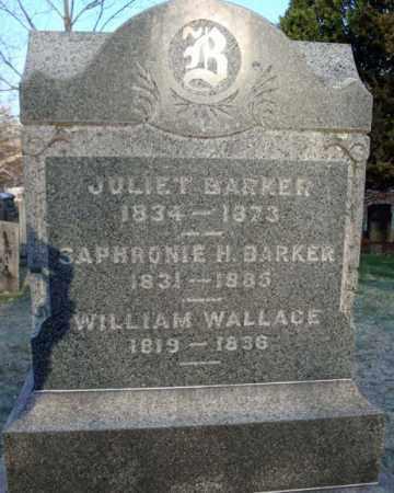 BARKER, JULIET - Greene County, New York   JULIET BARKER - New York Gravestone Photos