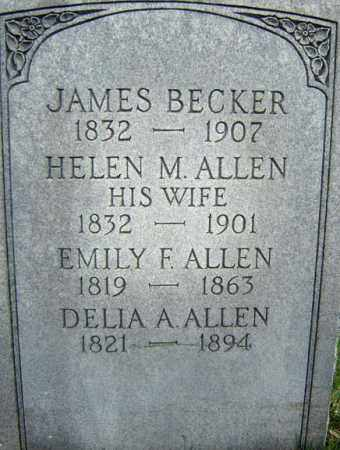 BECKER, HELEN M - Greene County, New York | HELEN M BECKER - New York Gravestone Photos