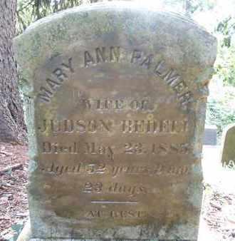 BEDELL, MARY ANN - Greene County, New York | MARY ANN BEDELL - New York Gravestone Photos