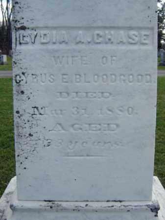 CHASE BLOODGOOD, LYDIA A - Greene County, New York | LYDIA A CHASE BLOODGOOD - New York Gravestone Photos