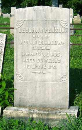 BRANDOW, DEBORAH - Greene County, New York | DEBORAH BRANDOW - New York Gravestone Photos