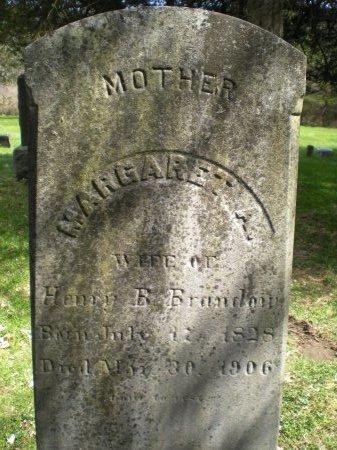 BRANDOW, MARGARET A - Greene County, New York | MARGARET A BRANDOW - New York Gravestone Photos