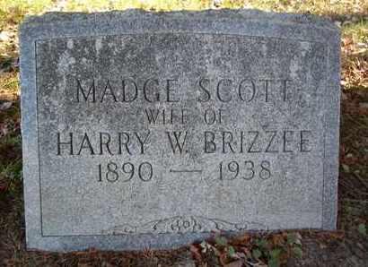 SCOTT, MADGE - Greene County, New York   MADGE SCOTT - New York Gravestone Photos