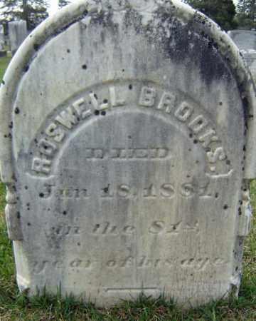 BROOKS, ROSWELL - Greene County, New York | ROSWELL BROOKS - New York Gravestone Photos