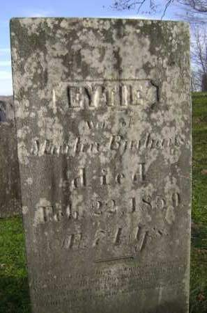 BURHANS, EYTIE - Greene County, New York | EYTIE BURHANS - New York Gravestone Photos
