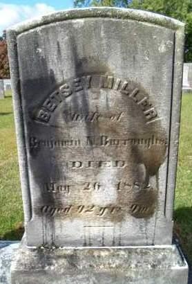 MILLER, BETSEY - Greene County, New York | BETSEY MILLER - New York Gravestone Photos