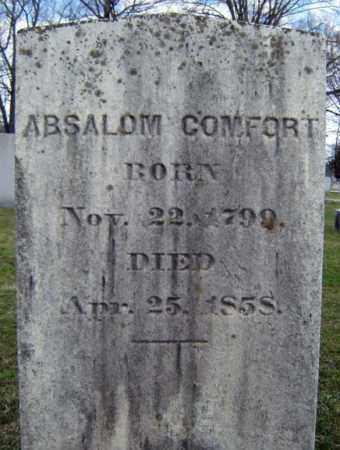 COMFORT, ABSALOM - Greene County, New York | ABSALOM COMFORT - New York Gravestone Photos