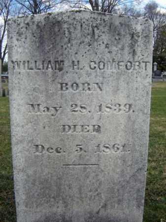 COMFORT, WILLIAM H - Greene County, New York   WILLIAM H COMFORT - New York Gravestone Photos