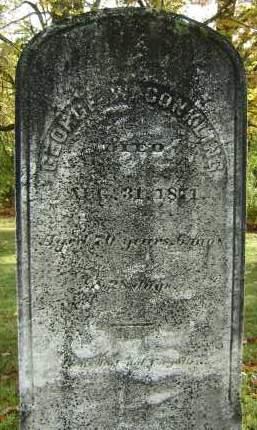 CONKLING, GEORGE W - Greene County, New York | GEORGE W CONKLING - New York Gravestone Photos