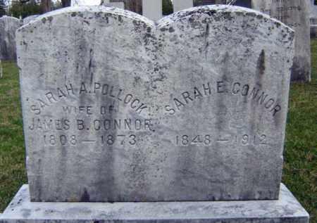 POLLOCK CONNOR, SARAH A - Greene County, New York | SARAH A POLLOCK CONNOR - New York Gravestone Photos