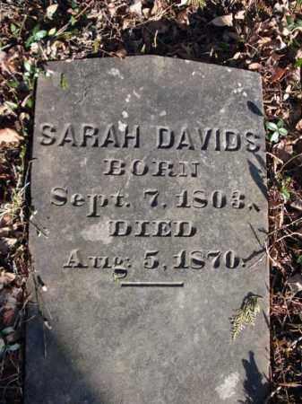 DAVIDS, SARAH - Greene County, New York   SARAH DAVIDS - New York Gravestone Photos