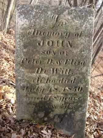 DE WITT, JOHN - Greene County, New York | JOHN DE WITT - New York Gravestone Photos
