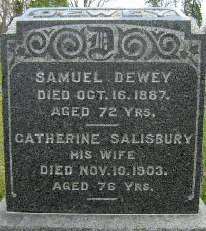 DEWEY, CATHERINE - Greene County, New York | CATHERINE DEWEY - New York Gravestone Photos
