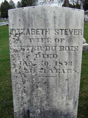 STEVER DUBOIS, ELIZABETH - Greene County, New York | ELIZABETH STEVER DUBOIS - New York Gravestone Photos