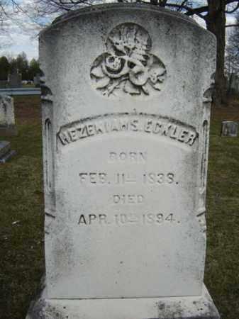 ECKLER, HEZEKIAH S - Greene County, New York | HEZEKIAH S ECKLER - New York Gravestone Photos