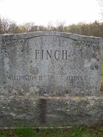 FINCH, WELLINGTON H. - Greene County, New York | WELLINGTON H. FINCH - New York Gravestone Photos