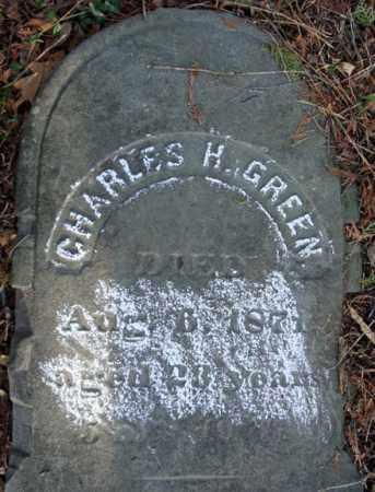 GREEN, CHARLES H - Greene County, New York | CHARLES H GREEN - New York Gravestone Photos