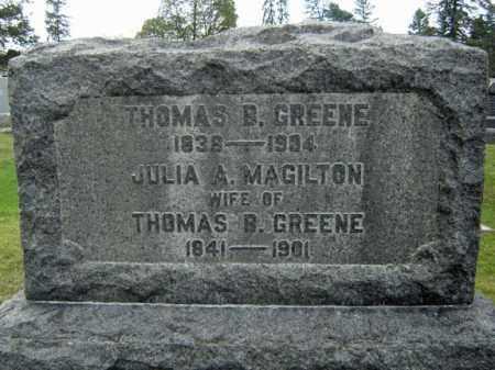 MAGILTON, JULIA A - Greene County, New York | JULIA A MAGILTON - New York Gravestone Photos