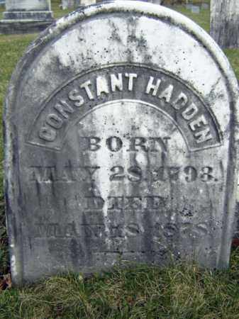 HADDEN, CONSTANT - Greene County, New York | CONSTANT HADDEN - New York Gravestone Photos