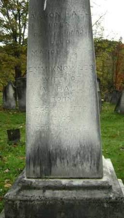 HALL, AARON - Greene County, New York   AARON HALL - New York Gravestone Photos