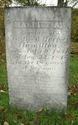 HAMILTON, HARRIET A - Greene County, New York | HARRIET A HAMILTON - New York Gravestone Photos
