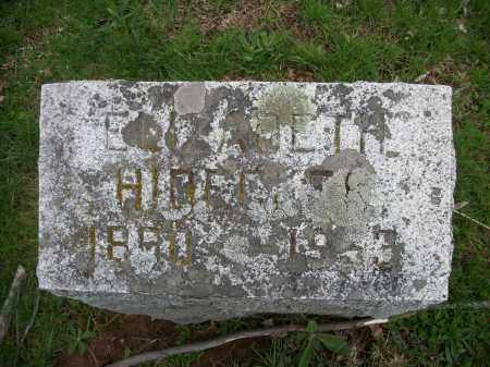 HIDECKER, ELIZABETH - Greene County, New York | ELIZABETH HIDECKER - New York Gravestone Photos