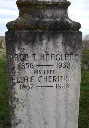 CHERITREE, ELLA E - Greene County, New York | ELLA E CHERITREE - New York Gravestone Photos