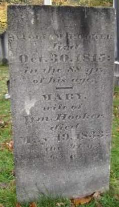 HOOKER, MARY - Greene County, New York   MARY HOOKER - New York Gravestone Photos