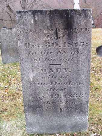HOOKER, WILLIAM - Greene County, New York | WILLIAM HOOKER - New York Gravestone Photos