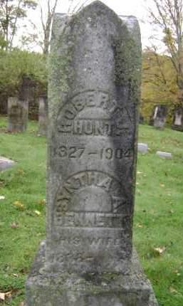 BENNETT HUNT, SYNTHA A - Greene County, New York | SYNTHA A BENNETT HUNT - New York Gravestone Photos