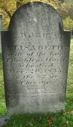 HURD, ELISABETH - Greene County, New York   ELISABETH HURD - New York Gravestone Photos