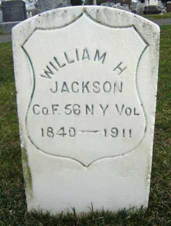 JACKSON (CW), WILLIAM H - Greene County, New York | WILLIAM H JACKSON (CW) - New York Gravestone Photos