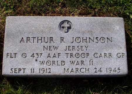 JOHNSON, ARTHUR R - Greene County, New York | ARTHUR R JOHNSON - New York Gravestone Photos