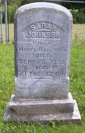 JOHNSON, SARAH - Greene County, New York | SARAH JOHNSON - New York Gravestone Photos
