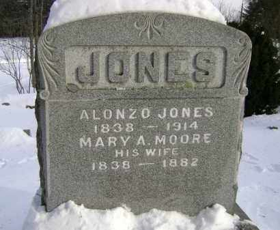 MOORE, MARY A - Greene County, New York | MARY A MOORE - New York Gravestone Photos