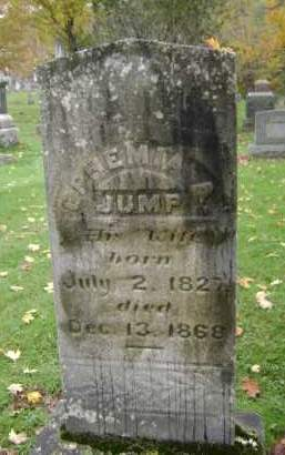 JUMP JONES, EPHEMIA A - Greene County, New York | EPHEMIA A JUMP JONES - New York Gravestone Photos