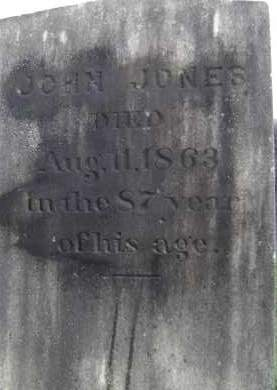 JONES, JOHN - Greene County, New York | JOHN JONES - New York Gravestone Photos